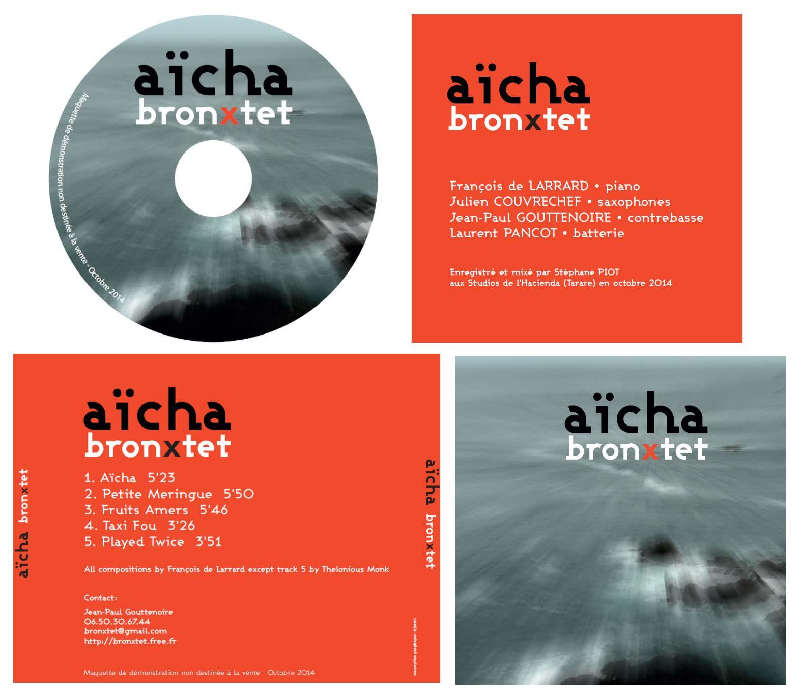 EP Bronxtet octobre 2014 jaquette