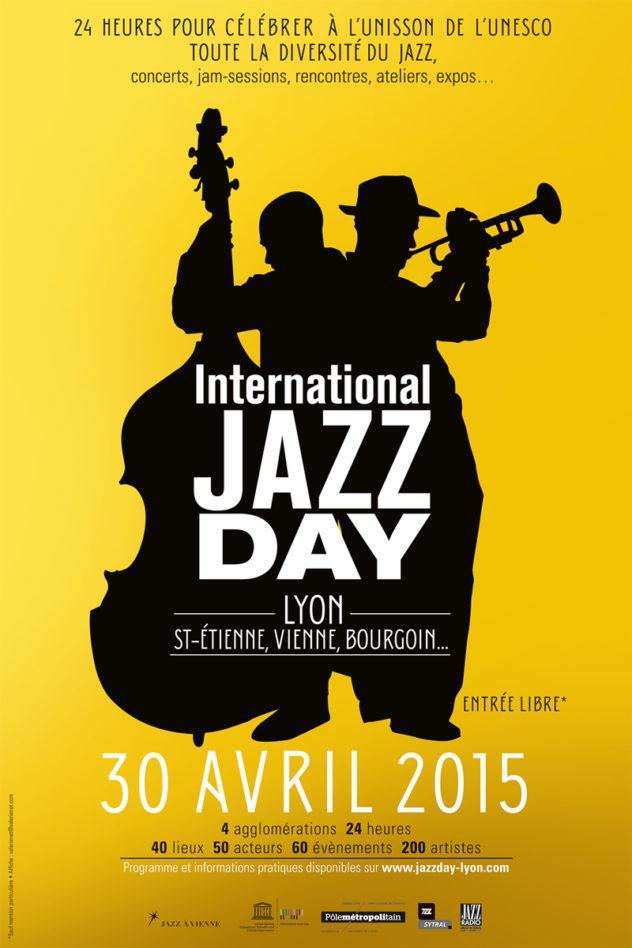 International Jazz Day affiche Lyon 2015
