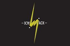 Logo jack jack fond noir